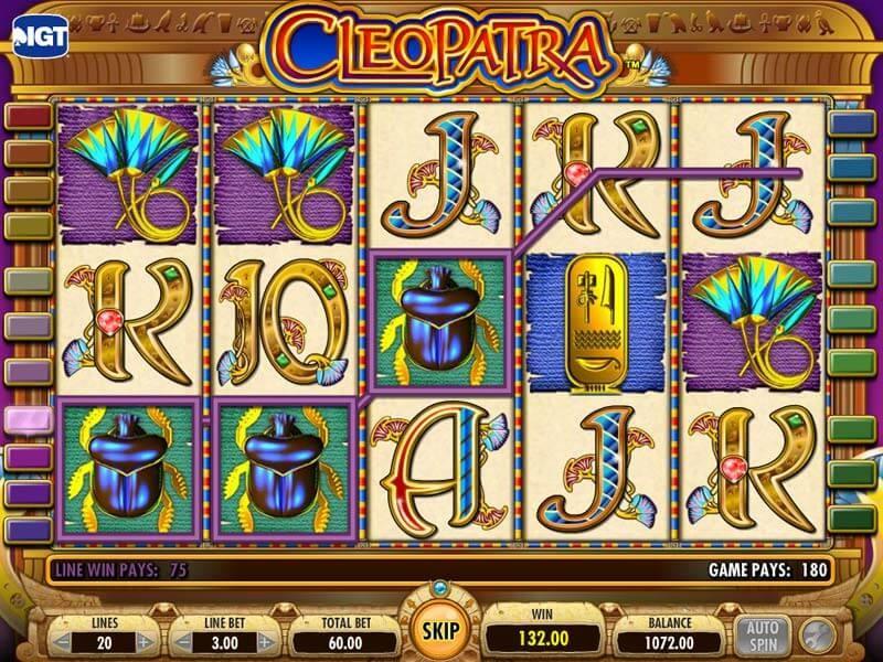 Cleopatra Slot Machine Review