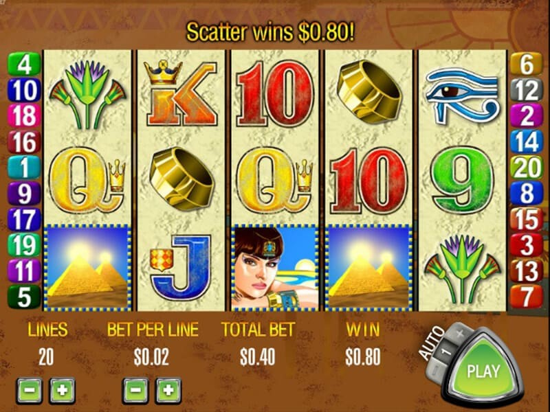 Queen of the Nile Slot Review